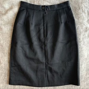 Saks Fifth Avenue Skirts - Saks Fifth Avenue Black Pencil Skirt